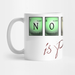 nobody is perfect Mug