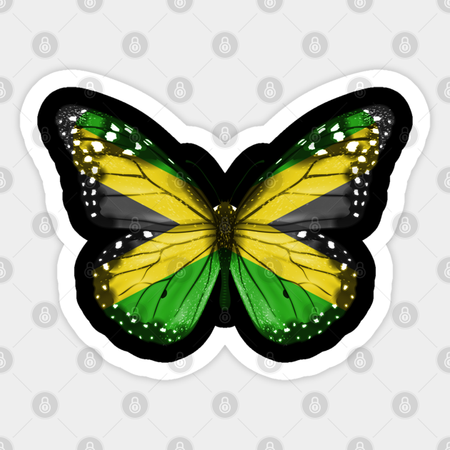 Jamaican butterfly top