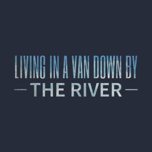 Matt Foley: Motivational Speaker – blue fade t-shirts