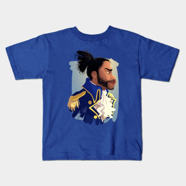 4fafda76 HAMILTON MUSICAL Lafayette - Hamilton - Kids T-Shirt | TeePublic