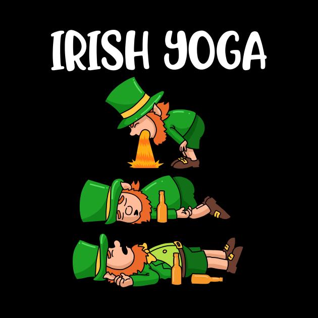 Irish Yoga Funny Yoga Gift
