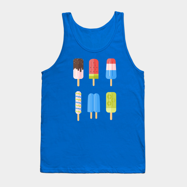 Popsicle Loose Tank Top