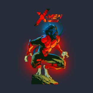 Night Crawler - Xmen RED t-shirts