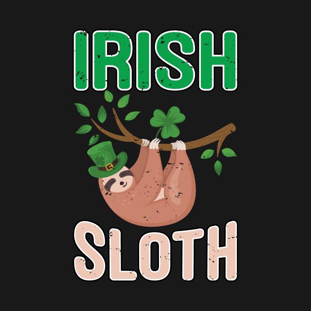 St Patricks Day Sloth