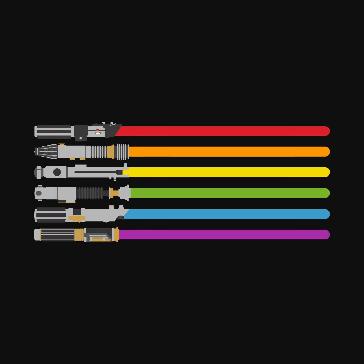 lightsaber rainbow