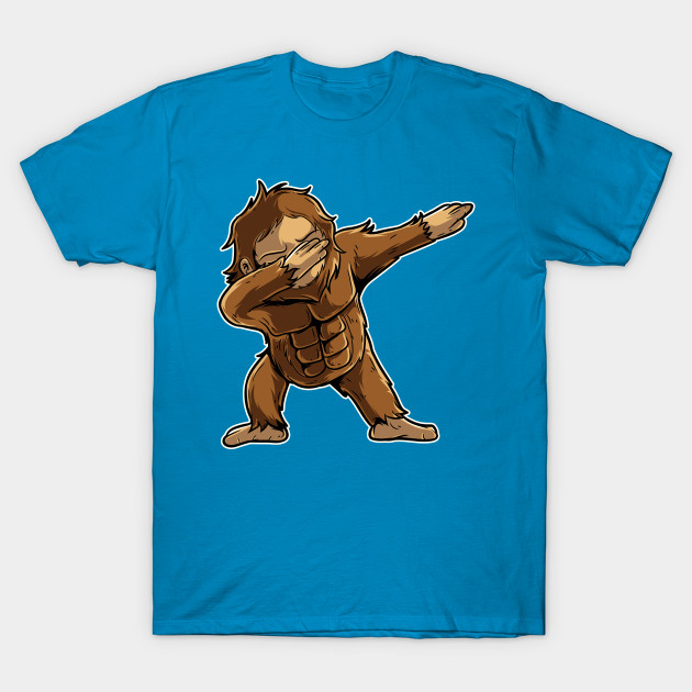 bbf6e09ca Cute Dabbing Bigfoot Shirt Funny Bigfoot Dab Tshirt Gift - Dabbing ...