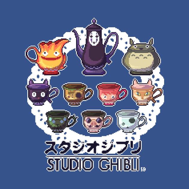 Ghibli Tea Set