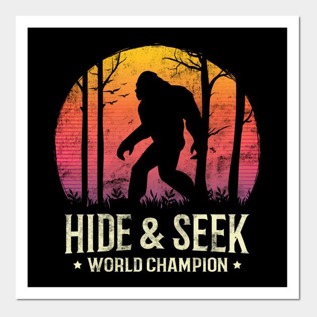 05c5bd0b Hide and Seek World Champion Sunset Bigfoot Silhouette - Bigfoot ...