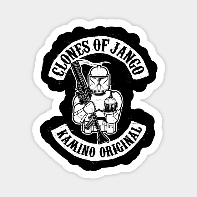 Science fiction sticker