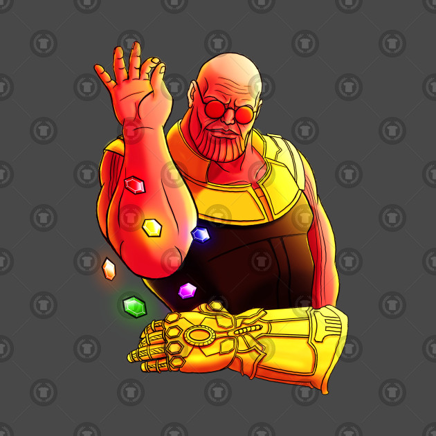 fd2fe89ec Thanos salt bae meme - Thanos Salt Bae Meme - T-Shirt | TeePublic