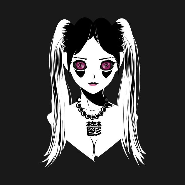Uniwhite Anime Goddess Of Depression