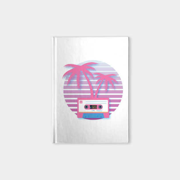Cassette Tape Palm 80s