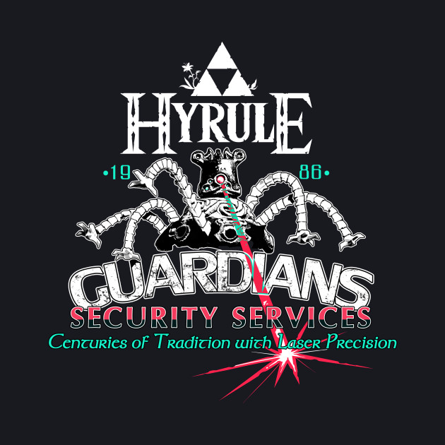Zelda Breath of the Wild Hyrule Guardian