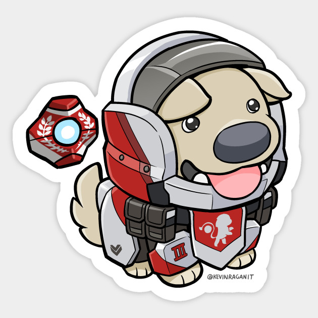Destiny 2 stickers teepublic