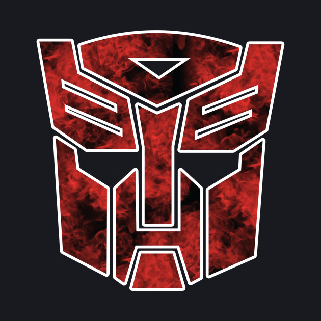 Autobots in flames