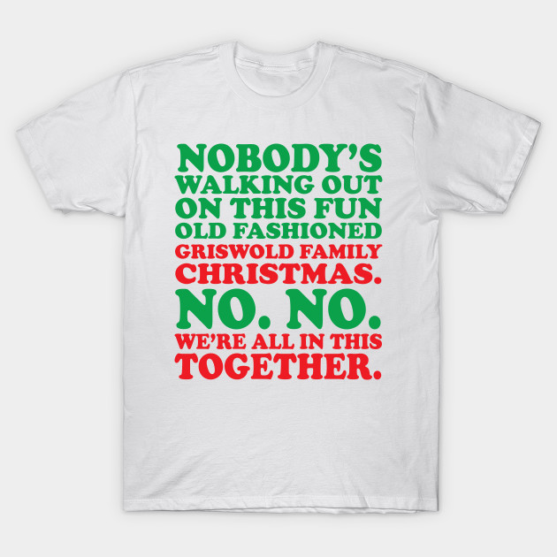 Christmas Vacation Shirts.Griswold Tradition