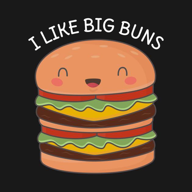 Kawaii Big Burger Pun T-Shirt