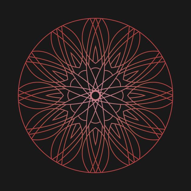 Sacred geometry - Mandala 54