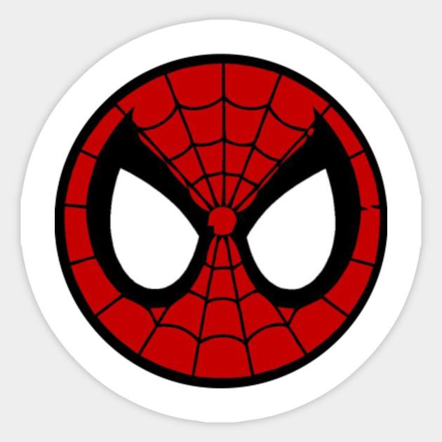 new spiderman logo spider man sticker teepublic