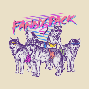 Fanny Pack t-shirts