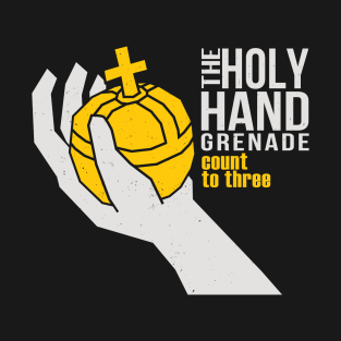 The Holy Hand Grenade t-shirts