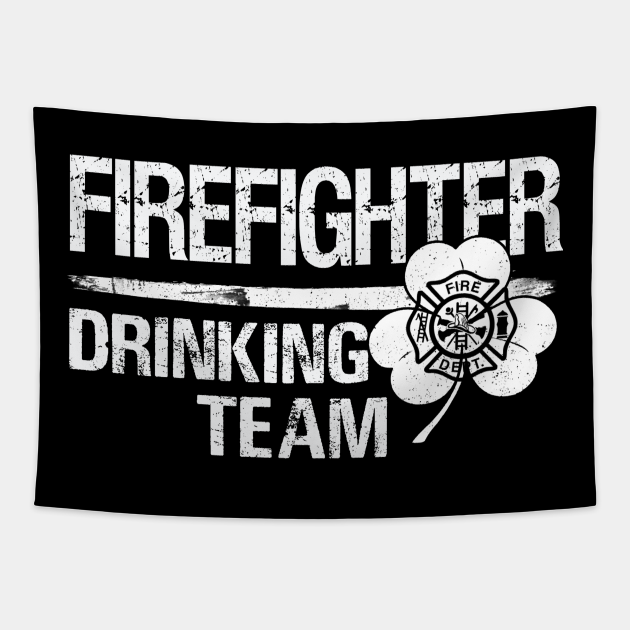 Firefighter drinking team