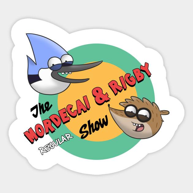 4eddf4c250c8f The Mordecai & Rigby Regular Show - Scratchy - Sticker | TeePublic