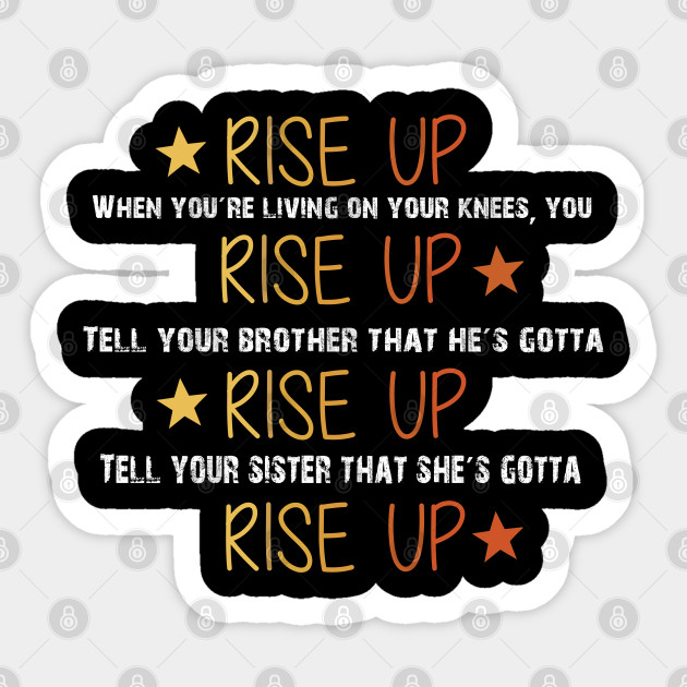 Hamilton Musical Quote Rise Up Alexander Hamilton Sticker Teepublic