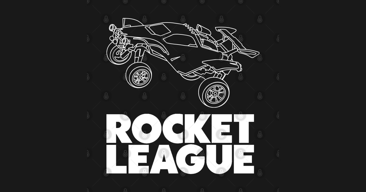 Rocket League octane white - Rocket League - Posters and ...