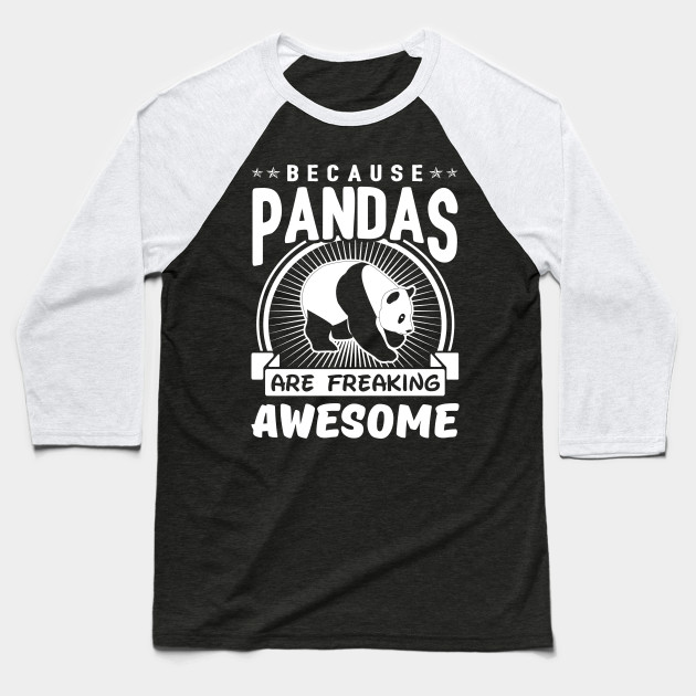 Because Pandas Are Freaking Awesome