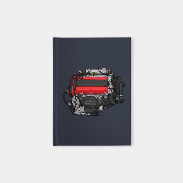 4G63 engine sticker