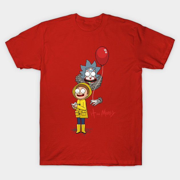 IT and morty T-Shirt-TOZ