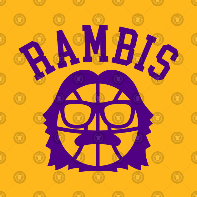 8ac8bceb16f Rambis - Lakers - T-Shirt | TeePublic