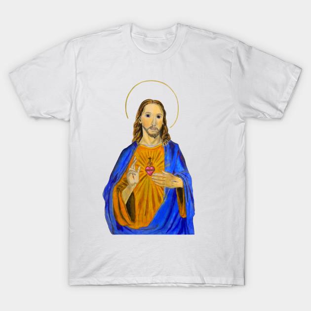 Jesus Tee Full Color - Jesus Christ - T-Shirt | TeePublic
