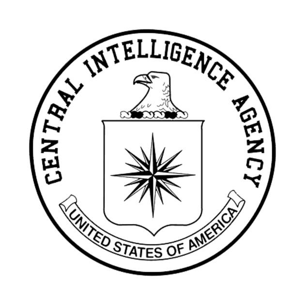 central intelligence agency cia black white logo cia t shirt GG Logo central intelligence agency cia black white logo