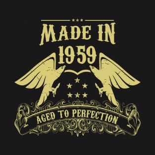b8892a3aa Made In 1959 T-Shirts   TeePublic