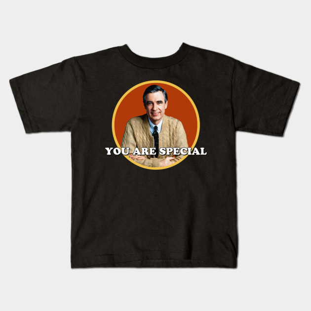 Mr Rogers You Are Special Sticker V Neck T Shirt Mr Rogers You Are Special Sticker V Nec Kids T Shirt Teepublic