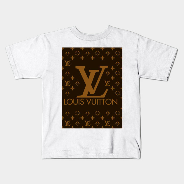 e7d7b84c4dc8 Fun Louis Vuitton Logo - Fun Louis Vuitton Logo - Kids T-Shirt ...