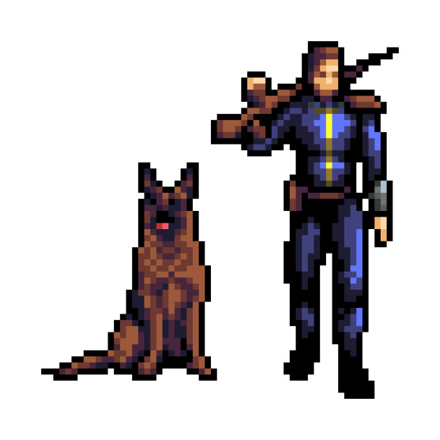 Vault Dweller and his Dog