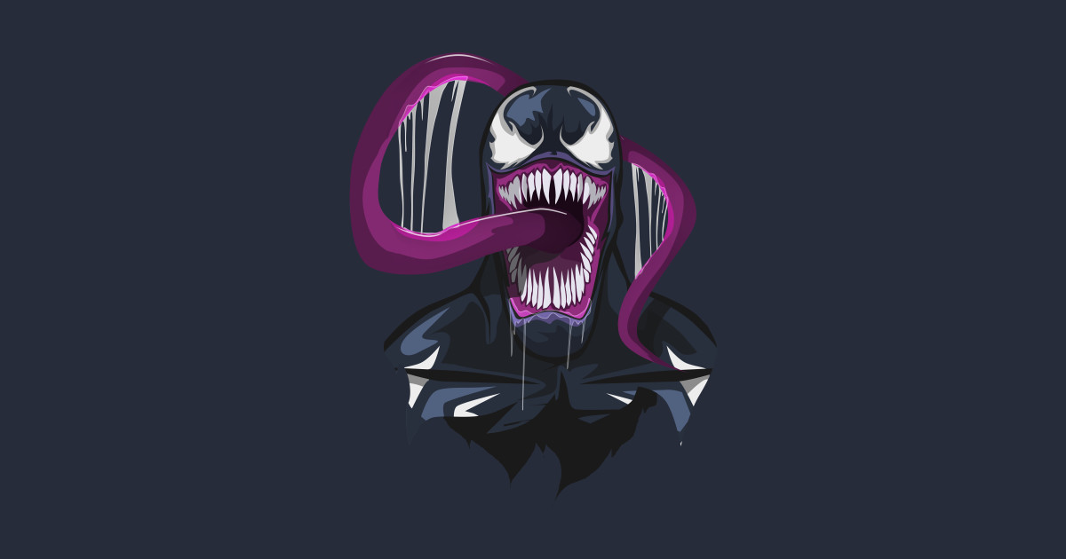 Venom t shirt by bosslogic
