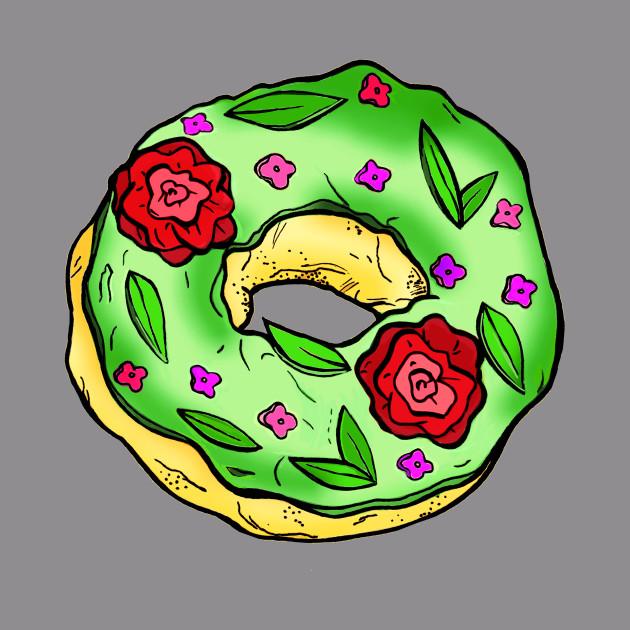 Rose Garden Donut