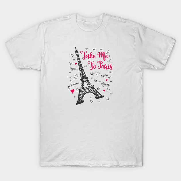 paris t-shirt eiffel tower for girls
