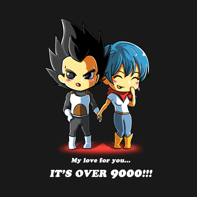 LOVE OVER 9000!!!