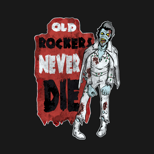 Old Rockers Never Die T-Shirt thumbnail