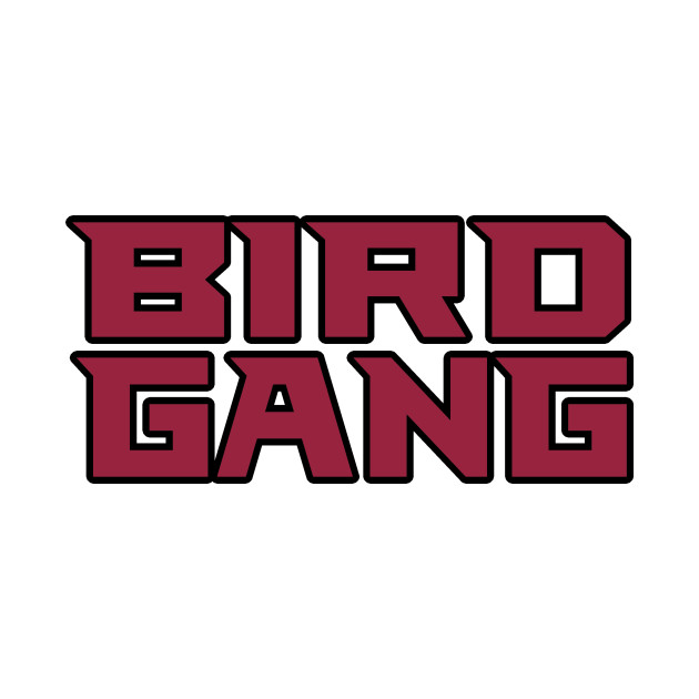 18e49f2c7352 Arizona LYFE Bird Gang!!! - Arizona Cardinals - T-Shirt