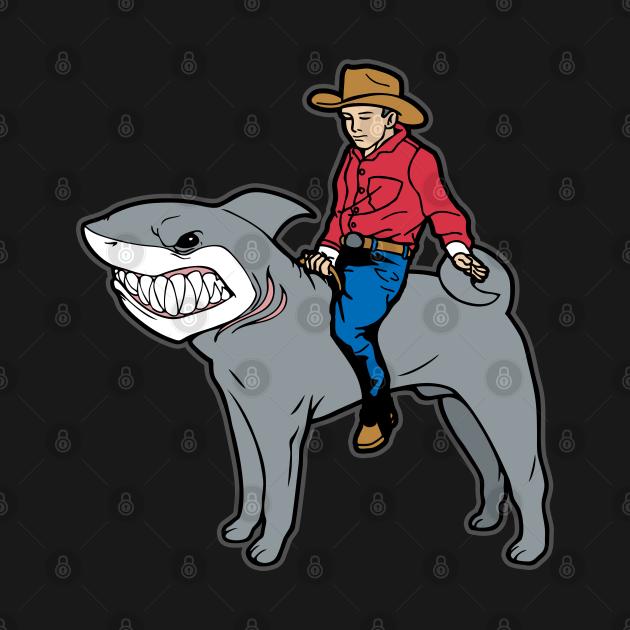 Shar-Pei Shark Cowboy Mashup Shark-Pei