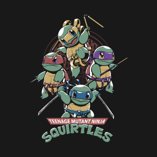 Squirtles t-shirts