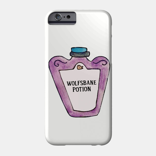 Wolfsbane Potion Wizard Phone Case Teepublic