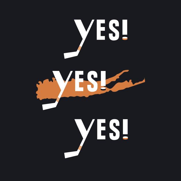 New York Islanders Yes! Yes Yes!