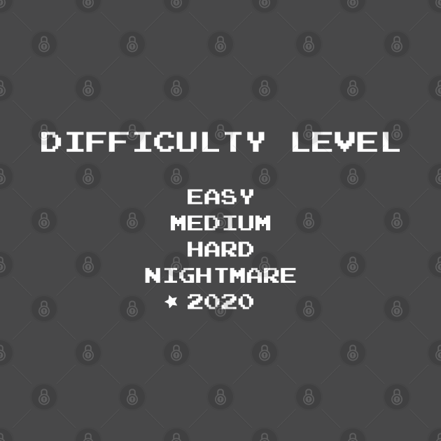 Difficulty level 2020